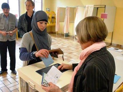 Musulmanes y elecciones