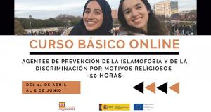 Curso gratuito online «Agentes de prevención de la islamofobia y de la discriminación por motivos religiosos